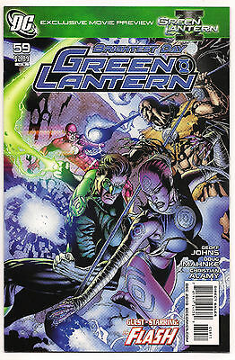 DC Green Lantern # 59 2010 Brightest Day guest starring the Flash