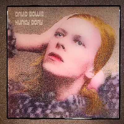 DAVID BOWIE Hunky Dory Record Cover Art Ceramic Tile Coaster