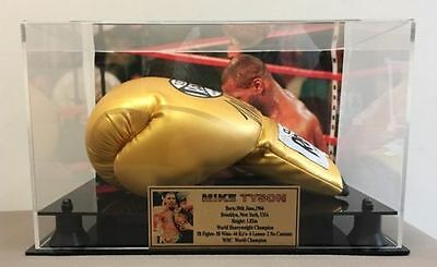 Mike Tyson Signed Boxing Gloves