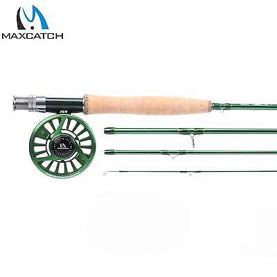 Maxcatch Fly Rod and Reel Combo 5/6WT 3/4WT 7/8WT Trout Fly Fishing Rod Combo