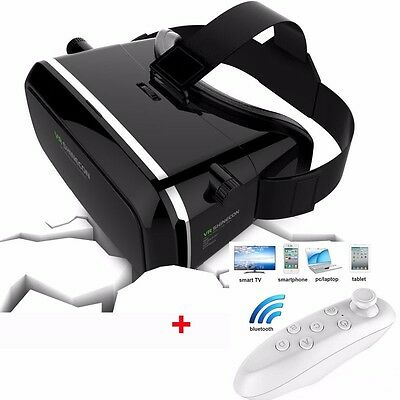 INUK 3D Virtual Reality VR BOX Glasses Helmet Headset For iPhone 6s Plus Samsung