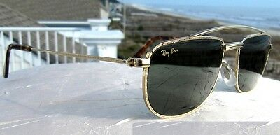 Vintage-B&l-Ray-Ban-W1756-G15-Handcrafted-Sleek-Gp-Aviator-Sunglasses-New