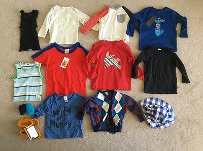 Assorted Boys Shirts, Singlets, Hat, Socks - Country Road, Esprit, Bonds