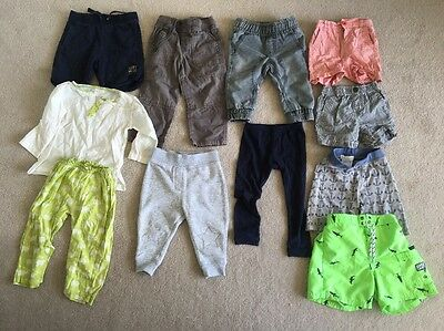 Assorted Boys Shorts And Pants - Country Road, Oshkosh, Charlie & Me,