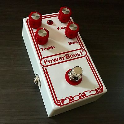 IDIOTBOX EFFECTS - Power Boost Guitar Pedal. 1971 Coloursound Power Boost Clone