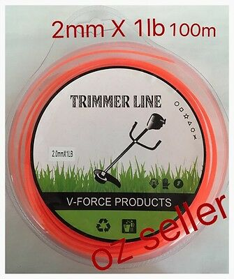 2mm 100M Trimmer line / Whipper Snipper cord / Trimmer Cord