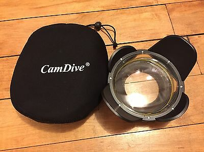 MEIKON Underwater Camera Wide Angle Lens Dome Port (67mm thread)