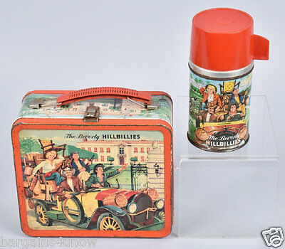 Vintage 1963 BEVERLY HILLBILLIES LUNCH BOX with THERMOS