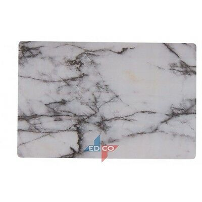 Set of 6 MARBLE STONE LOOK GREY PLACEMATS TABLE MAT DINNER MAT