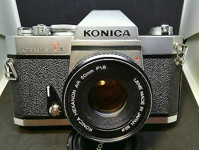 Konica T3n with Hexanon 50mm 1.8