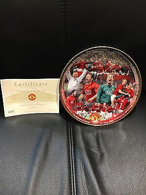 Manchester United Collectors Plate