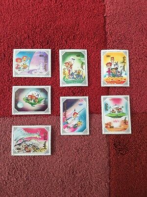 Mongolia Stamps 1991 unmounted mint / never Used the Jetsons