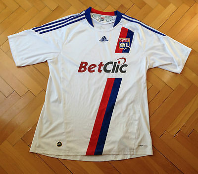 Olympique Lyon Jersey 2010-11 Home