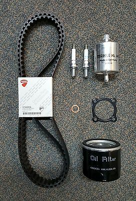 Genuine Ducati Spare Parts Service Kit, Timing Belts, Filters, 2007 1098/S SBK