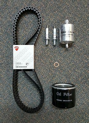 Genuine Ducati Spare Parts Service Kit, Timing Belts, Filters, 848 & 1098 '08 on