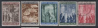 Vatican City - 1949 Holy Year - from SG151 - 4 mounted mint 1 used