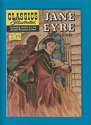 Classics Illustrated Comic Book # 35 Jane Eyre by C. Bronte  #724