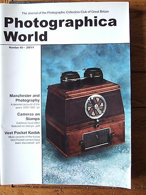 Photographica World magazine No.95 2001/1: Ensign, Manchester 1856-60, SEE INDEX