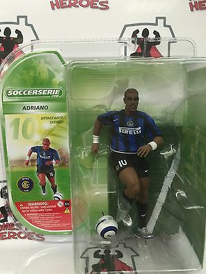 Soccerserie Inter Milan Adriano 15Cm/6 Inch Figure Sealed In Blister Pack