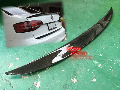 Carbon Fiber VW 2011-2016 JETTA MK6 Sedan trunk spoiler ●