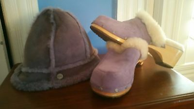 Cute set Ugg hat for cozy winter