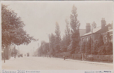 Stockport Stepping Hill. Early Real Photo Postcard 1906