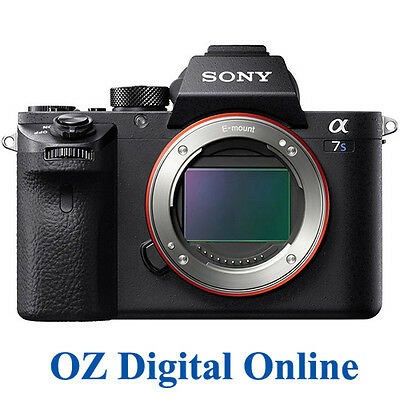 NEW Sony Alpha a7S II 12.2MP Mirrorless Digital Camera Body Mark II Mk2 1YrAuWty