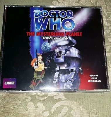 Doctor Who Dr Who BBC Audiobook - The Mysterious Planet - 3 x CD set from UK