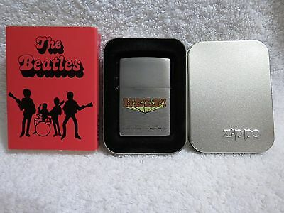 "NEW The Beatles ""HELP!"" Zippo Limited Edition Lighter - Unfired"