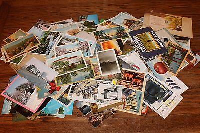 Lot of 170 Vintage Postcards - POSTED AND UNPOSTED - MOSTLY 1940'S TO 1970'S