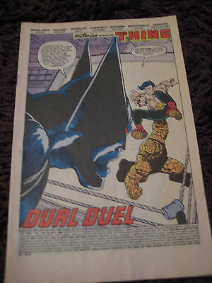 Marvel Comics The Thing Dual Duel Sphinx Puppet-Master Volume 1 No 34 April 1986