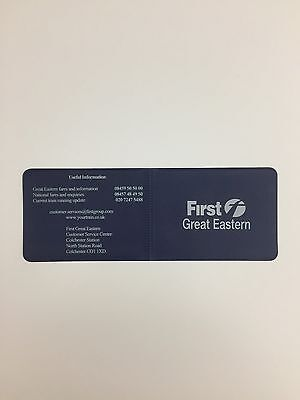 First Great Eastern Ticket/Oyster Wallet - Unused