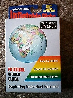 Educational Inflatable Globe (16inch)