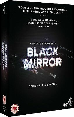 Black Mirror - Series 1-2 and Special: New DVD Box Set