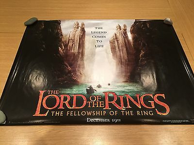 Lord of the Rings : Fellowship of the Ring (teaser) Original Cinema Poster