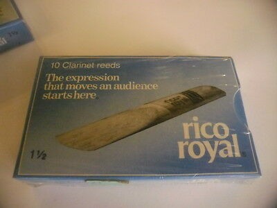 RICO ROYAL - 10 Anches-reeds Clarinette 1,5- NEW