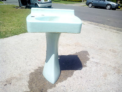 Used Cast Iron Sink / Basin and Stand / pedastool