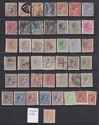 Porto Rico, Early Classic Stamp Collection Mh & Used, Mixed Condition, High Cv