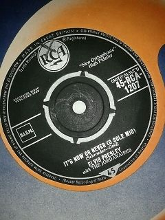 It's Now Or Never/Make Me Know It - Elvis Presley - 45rpm 1960