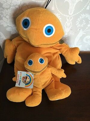 2 Vintage Zippy From Rainbow Toys One Hot Water Bottle And One Talking
