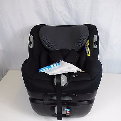 New Maxi Cosi Opal Group 0+ 1 Black Car Seat, Birth - 18 kg / 4 Years Baby Child