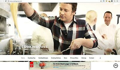 CookingCove.com Domain Name And Web Site For Sale Perfect For The Cooking Niche