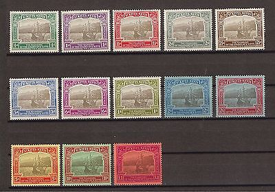 ST KITTS NEVIS 1923 SG48/60 Mint Cat £1200