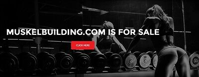 MuskelBuilding.com Domain name For Sale With The Word Muscle In German 7 years