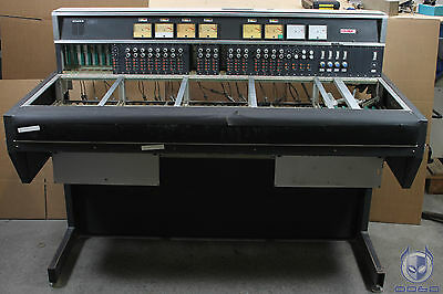 Studer 369 console frame with some Auxilery modules and VU meters