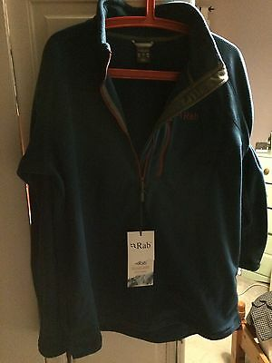 Rab Quest Pull On Fleece Colour Ink Size L