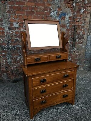 Early 20Th Century Antique Edwardian Bedroom Dressing Chest - Dressing Table