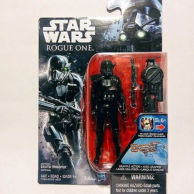 "Star Wars Rogue One IMPERIAL DEATH TROOPER 3.75"" Action Figure"