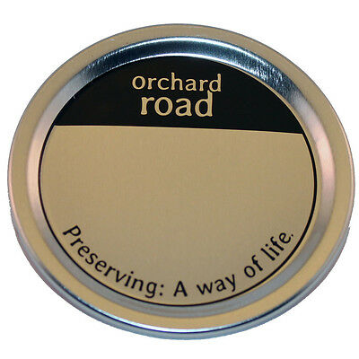 Orchard Road Canning Mason Jar Lids - Wide