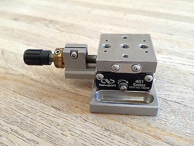 Newport 461 X Linear Translation Stage With Micrometer (2 available)
